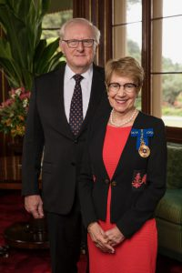 The Honourable Margaret Beazley AO QC, Governor of New South Wales & Mr Dennis Wilson
