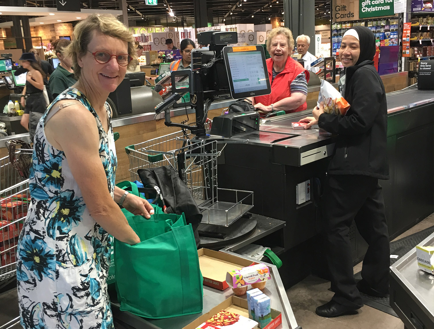 Grocery shopping continues for Christmas Project 2019