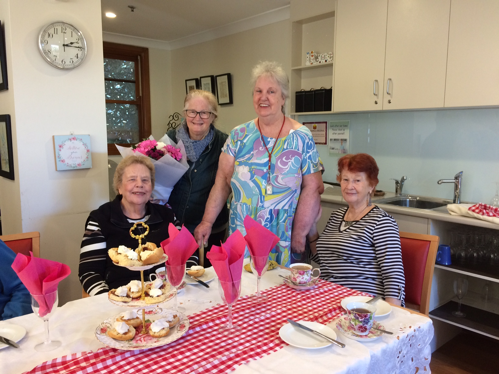 Gethsemane Community Inc. invited to a thank you afternoon tea